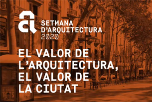 "Olga Subirós participates at the Barcelona's Architecture Week 2020 debat: ""The value of architecture. The value of the city"""